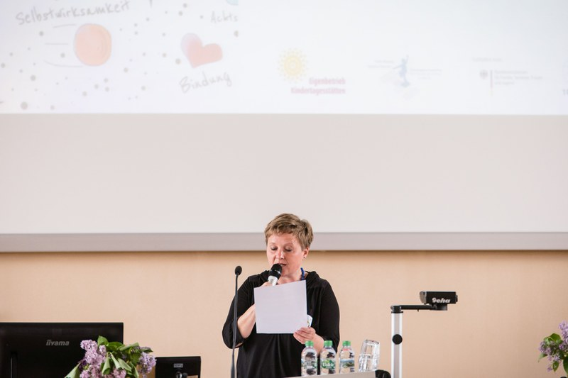 Anja Matzke-Hellem: Rede zum Sprachfachtag