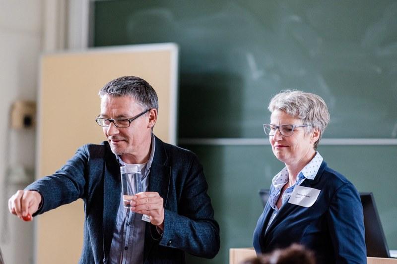 Veronika Meiwald und Dr. Stephan Gühmann