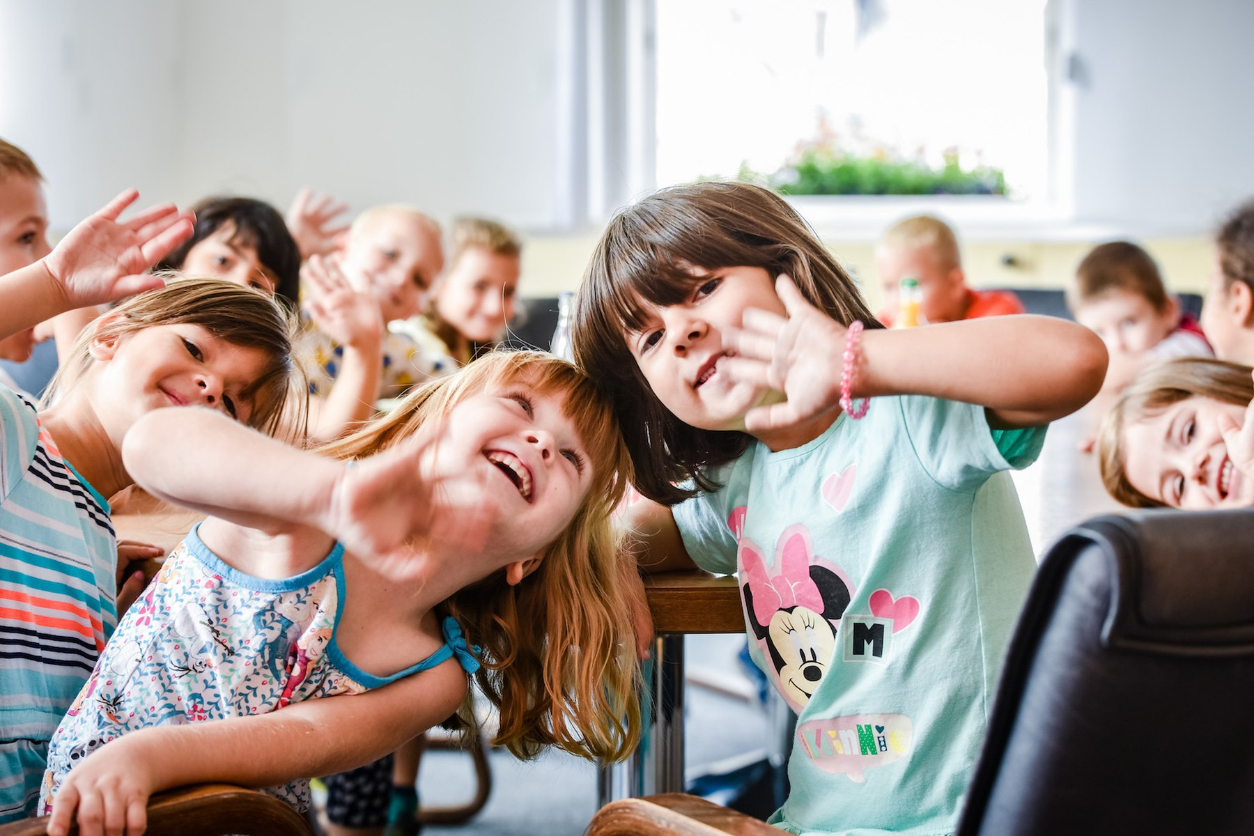 Kinder im Rathaus